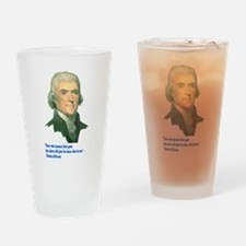 Those Who Beat Their Guns Int Drinking Glass