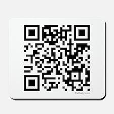 Mrs. Edward Cullen QR Code Mousepad