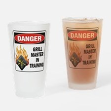 Grill Master Drinking Glass