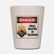 Grill Master Shot Glass