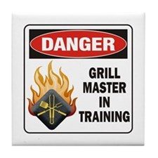 Grill Master Tile Coaster