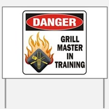 Grill Master Yard Sign