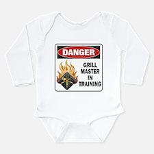 Grill Master Long Sleeve Infant Bodysuit