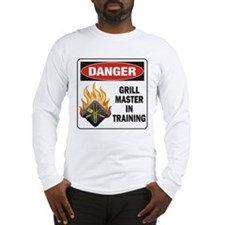 Grill Master Long Sleeve T-Shirt