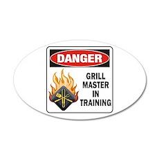 Grill Master 22x14 Oval Wall Peel