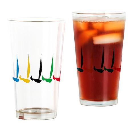 Sailing Regatta Drinking Glass