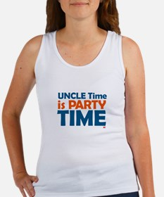 Uncle Time is Party Time Women's Tank Top