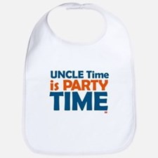 Uncle Time is Party Time Bib