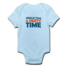 Uncle Time is Party Time Infant Bodysuit