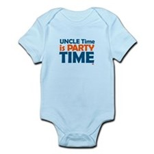 Uncle Time is Party Time Onesie