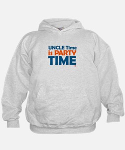 Uncle Time is Party Time Hoodie