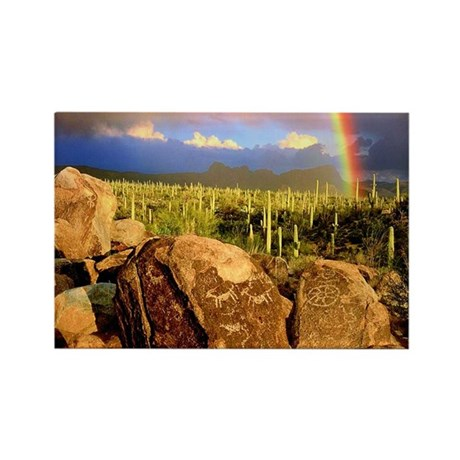Saguaro National Park Rectangle Magnet