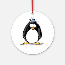 Princess penguin Ornament (Round)
