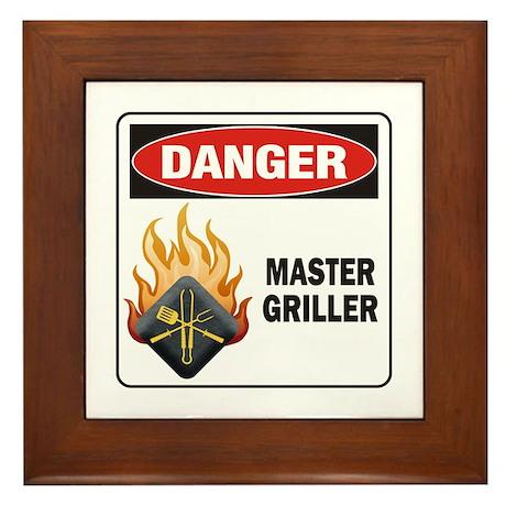 Master Griller Framed Tile