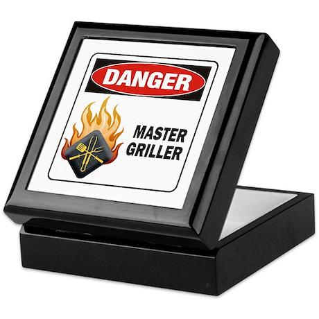 Master Griller Keepsake Box