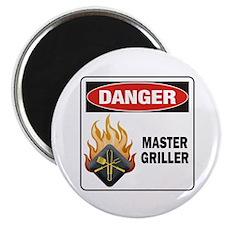 Master Griller Magnet