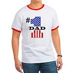#1 Dad Ringer T