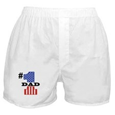 #1 Dad Boxer Shorts