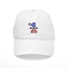 #1 Dad Baseball Cap
