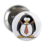 Bad Tie penguin Button
