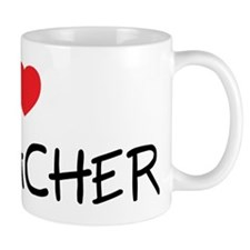 I Love My Teacher Mug