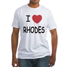 I heart rhodes Shirt