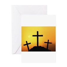 Crosses Greeting Card