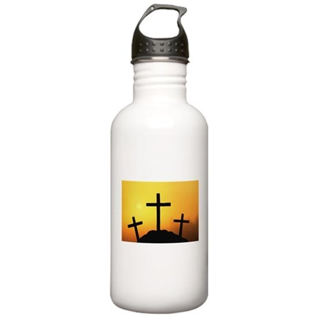 Crosses Stainless Water Bottle 1.0L