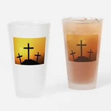 Crosses Drinking Glass
