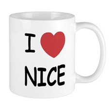 I heart nice Mug
