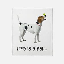 Foxhound Life Throw Blanket