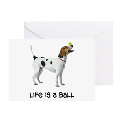 Foxhound Life Greeting Cards (Pk of 10)