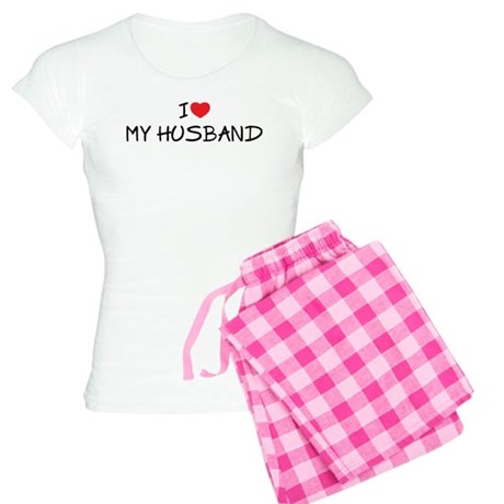 I Love My Husband Women's Light Pajamas