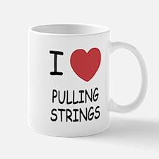 I heart pulling strings Mug