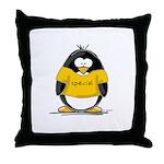 Special penguin Throw Pillow