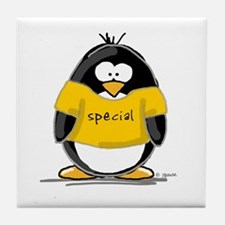 Special penguin Tile Coaster