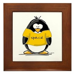 Special penguin Framed Tile