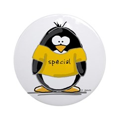Special penguin Ornament (Round)