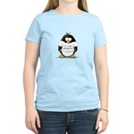 I Love Penguins penguin Women's Pink T-Shirt