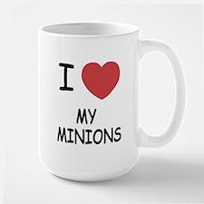 I heart my minions Mug