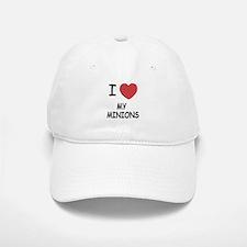 I heart my minions Baseball Baseball Cap