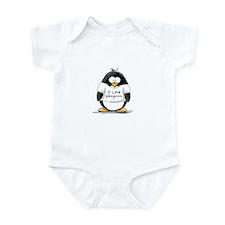 I Love Penguins penguin Infant Creeper