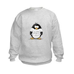 I Love Penguins penguin Sweatshirt