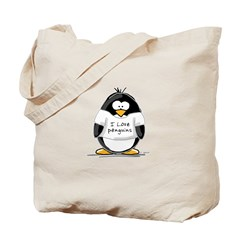 I Love Penguins penguin Tote Bag