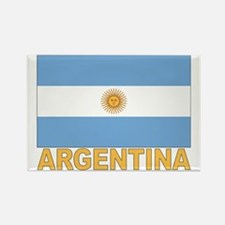 Argentina Flag Rectangle Magnet