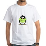 Geek penguin White T-Shirt