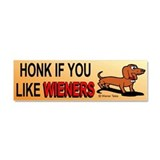 Weiner dog Car Magnets