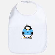 Chill penguin Bib