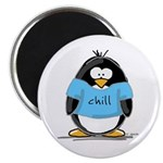 Chill penguin Magnet