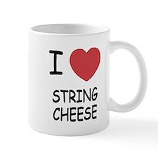 I heart string cheese Small Mug